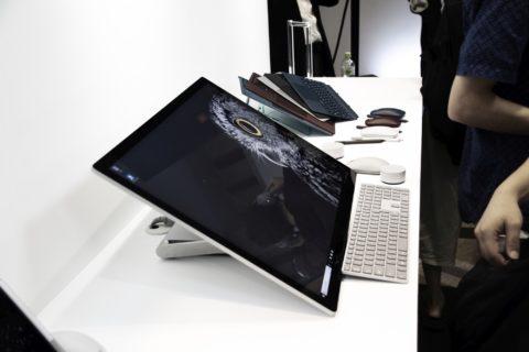 Surface Studio 2 実機写真レビュー。Microsoft Japan Surface Event 潜入フォトレポート 側面