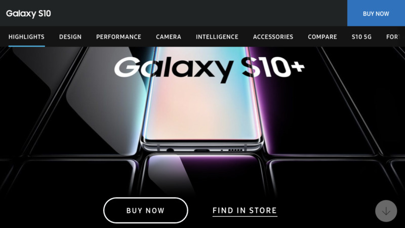 サムスンGalaxy S10が米国で販売開始!直接インスタストーリーにシェア可能なInstagramモード搭載?Samsungスマホ新モデル最新情報2019