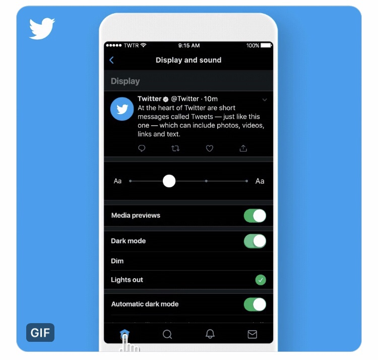 Twitter launches Dark mode!Twitter new features/updates/changes latest news 2019