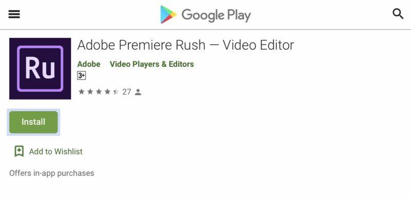 Adobe Premiere RushがAndroid対応開始!スマホで動画編集、複数デバイス間でデータ同期、継続作業可能。アドビ/アプリ最新情報2019