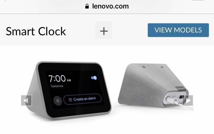 レノボ Google Assistant対応スマートクロック6月2日発売。