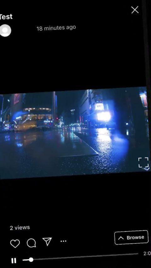 IGTV横長動画アップ可能に!縦画面に横向き表示、スマホ回転で全画面に。インスタグラム/IGTV最新情報