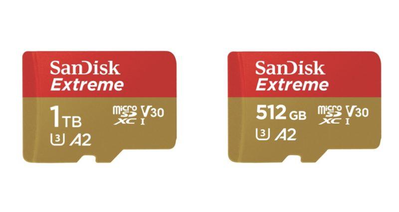 サンディスク 512GBマイクロSD 6月21日発売決定!1TBは8月発売と発表!カメラスマホ関連商品/SanDisk最新情報2019年6月