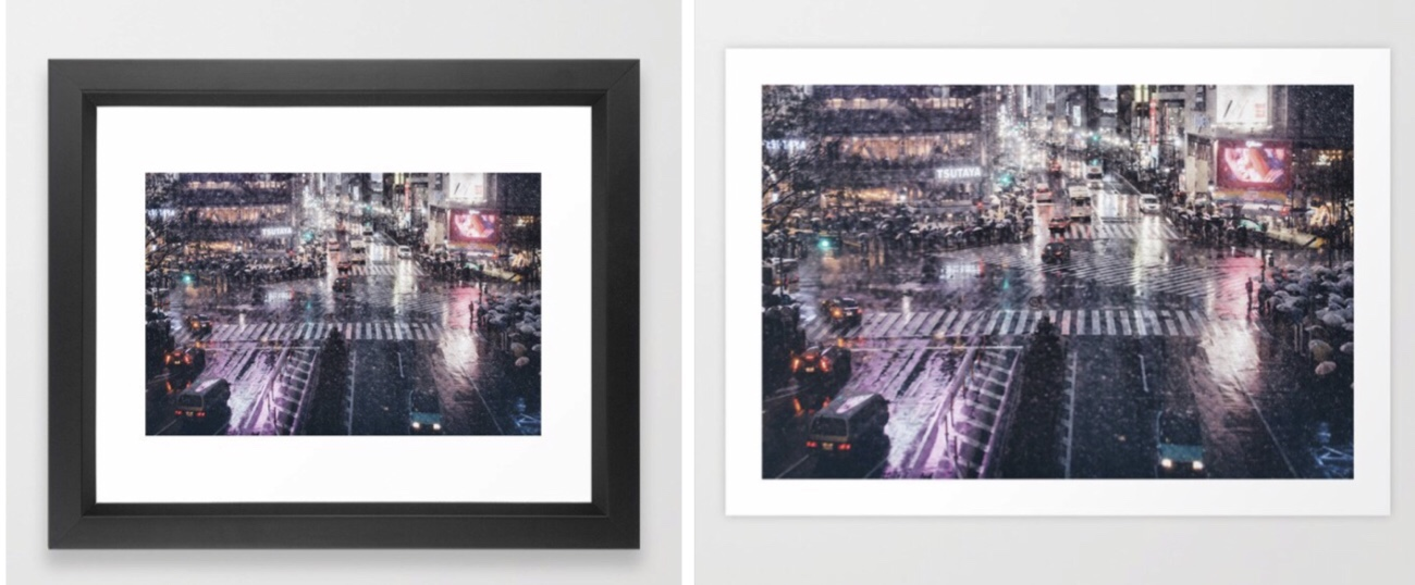 Photo goods are discounting up to 30%OFF now on Society6! Neo Tokyo/Rainy Tokyo/Shibuyascapes/From My Umbrella.Check this out;)