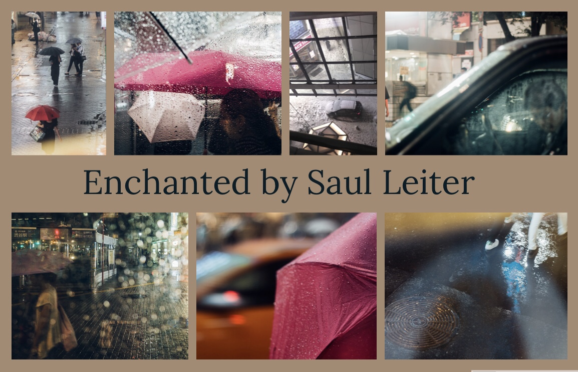Enchanted by Saul Leiter. and then... My photography theme.If Saul Leiter visits Tokyo and shoot photos.