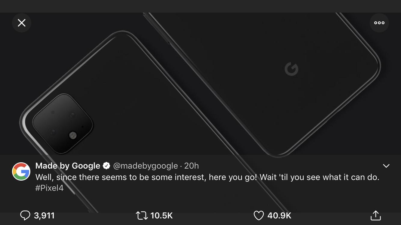 Google Pixel 4 画像をグーグル公式が公開!グーグルスマホ/Android最新情報2019年6月