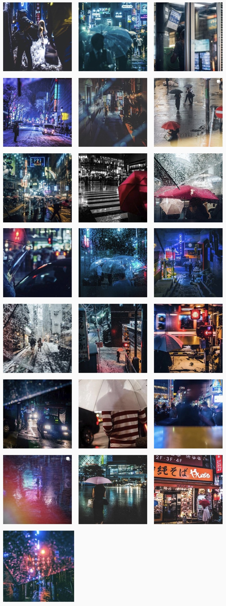 Enchanted by Saul Leiter. and then… My photography theme.If Saul Leiter visits Tokyo and shoot photos.
