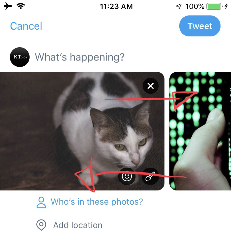 It will be able to sort photos on post screen on Twitter? Twitter new features/updates latest news 2019