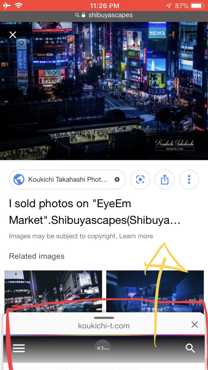 """Google rolled out """"Swipe to Visit"""" for AMP pages(photos) on Mobile Image Search Ressults!Users can access your site more easily and quickly!Google new features/updates/changes/SEO/AMP/SERPs Latest News in July 2019"""