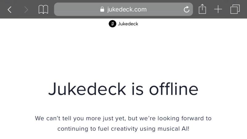 TikTokのバイトダンスが「AIで音楽作成アプリ:Jukebox」のスタートアップJukedeckを買収?ByteDance/アプリ最新情報2019年7月