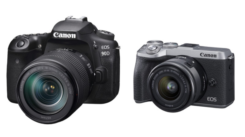 Canon announces new camera EOS 90D/EOS M6 Mark II Canon new product cameras latest news Aug 2019