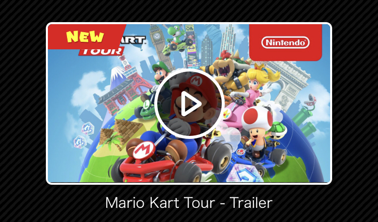 Here We Go! Mario Kart Tour for iOS/Android