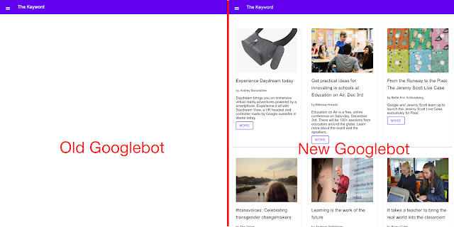 New Google bot evergreen can rendering java scripts on Google trst tools(AMP/Search Consol/Mobil Friendly/Rich Result) SEO/SEM Latest News Aug 7 2019
