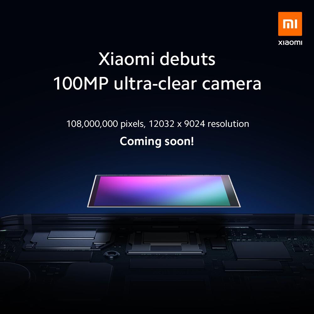シャオミ(Xiaomi)スマホに1億画素イメージセンサー搭載!動画6k 30fps。サムスン開発。スマートフォン最新情報2019年8月