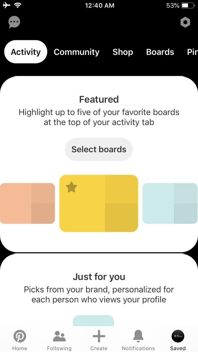 (English) ピンタレスト、アプリがデザイン変更?プロフ画面がダークモード?Pinterest新機能/アップデート最新情報2019Pinterest launches dark mode on profile in app.Pinterest latest news Oct 1 2019