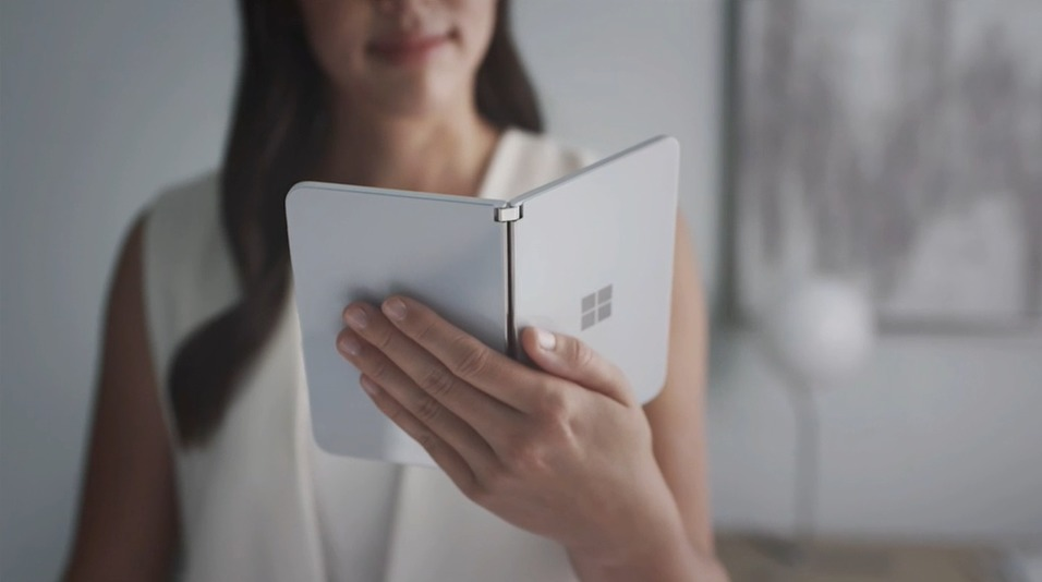 "Microsoft announces ""Surface Neo"" fold notebook on Microsoft Event 2019 at Oct 03 2019"