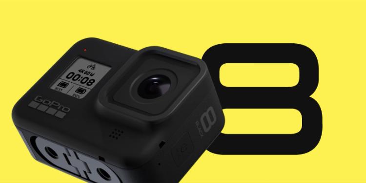 Go Pro announces Hero8 Black!Go Pro new model /action camera latest news Oct 1 2019