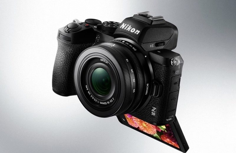 "NIKON announces new DX mirrorless camera ""Z50"".Camera lens nikon new model latest news Oct 2019"