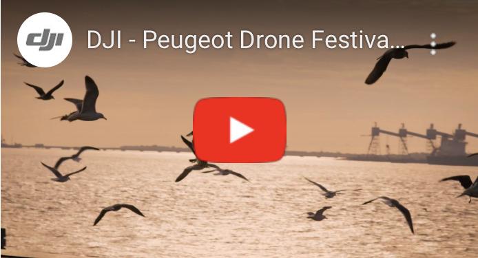 DJIがPeugeot Drone Festival 2019 勝者の空撮動画を公開!DJIカメラドローン最新ニュース続報 2019年11月