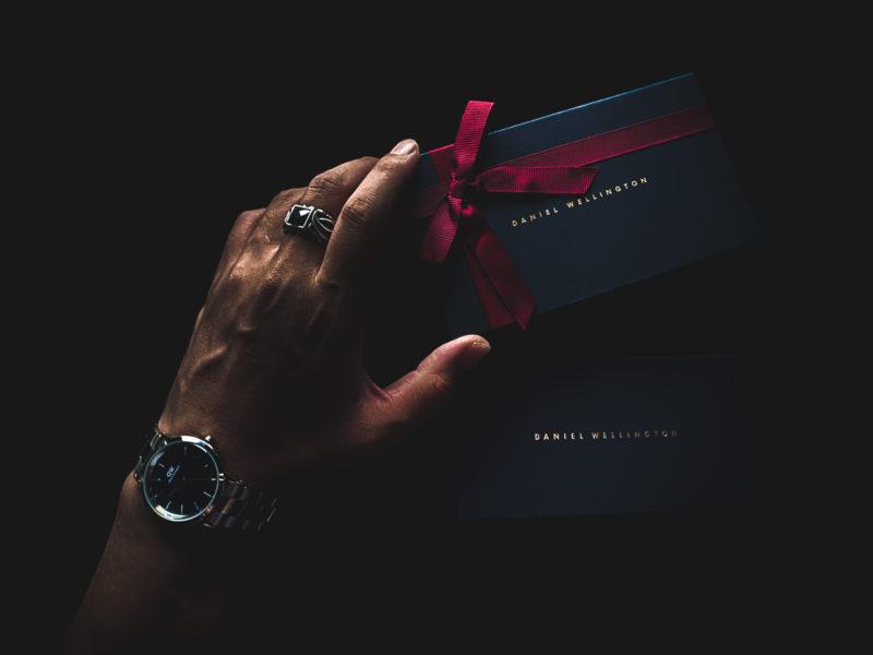 ダニエルウェリントン「Iconic Link」シルバー/ブラック/36mmざっくりレビュー。DW新作腕時計