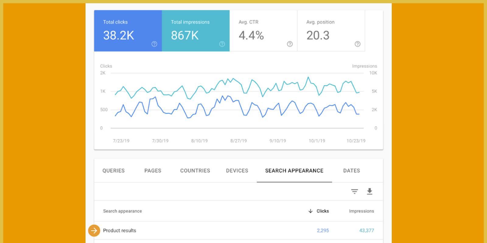 サーチコンソールで「商品(プロダクト)」リッチリザルト流入数が確認可能に!検索での見え方。Google SEO 検索エンジン対策 最新情報 2019 年11月