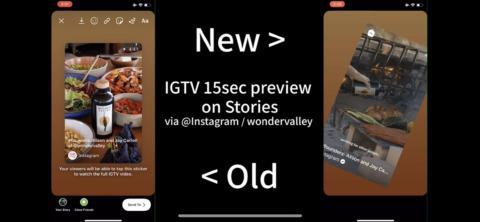 IGTVアプリに検索発見タブ!直接動画撮影してシェア。動画特化UIUX。IGTV動画ストーリーズ投稿も正式実装開始!インスタグラム新機能アップデート最新情報 2020年4月14日