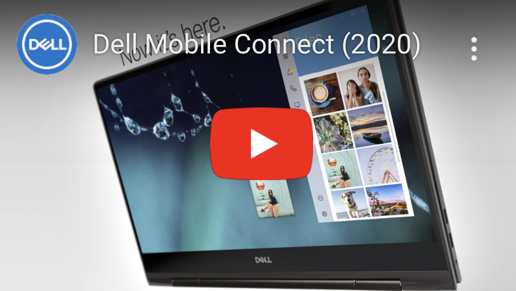 DELL MOBILE CONNECT App will be able to use on iOS iPhone in Spring 2020