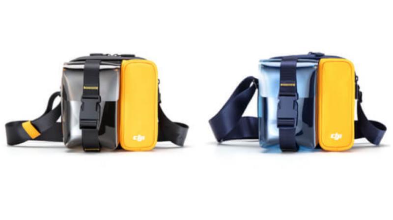 Mavic Mini ミニバッグに新色登場!イエロー&ブラックとブルー&イエロー!DJI小型ドローンマビックミニ関連商品最新ニュース 2020年1月