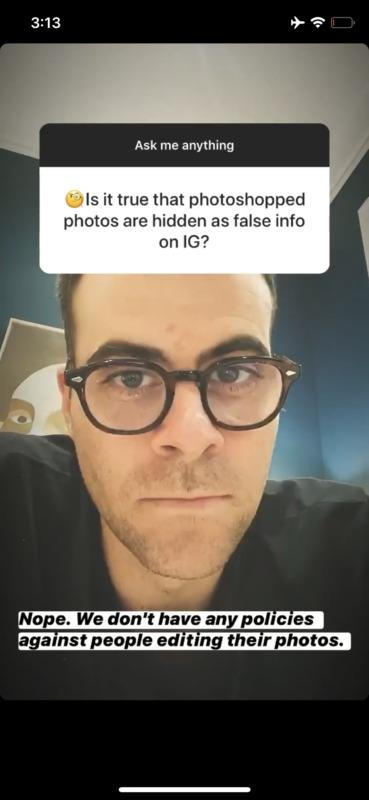 インスタグラムPhotoshop加工画像/写真が発見/ハッシュタグフィードで非表示に?Instagram新機能/ファクトチェックの弊害。最新ニュース2020年1月16日