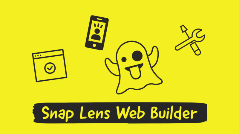 "Snapchat rolled out ""Lens Web Builder"" for Ads. Easily create AR camera effects on browser.Snapchat new feature Latest news Mar 2020"