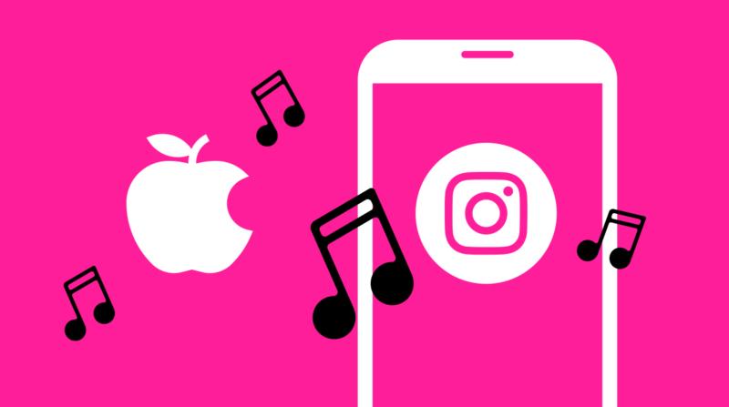 Apple Music、インスタグラムに今聴いている音楽シェアをテスト中。Instagram/iOS 新機能 最新情報2020年4月1日