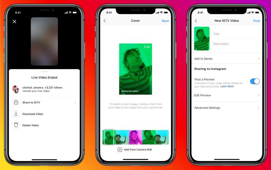 インスタライブ IGTVへの再シェア可能に。Instagramストーリーズ新機能 最新ニュース 2020年3月-4月