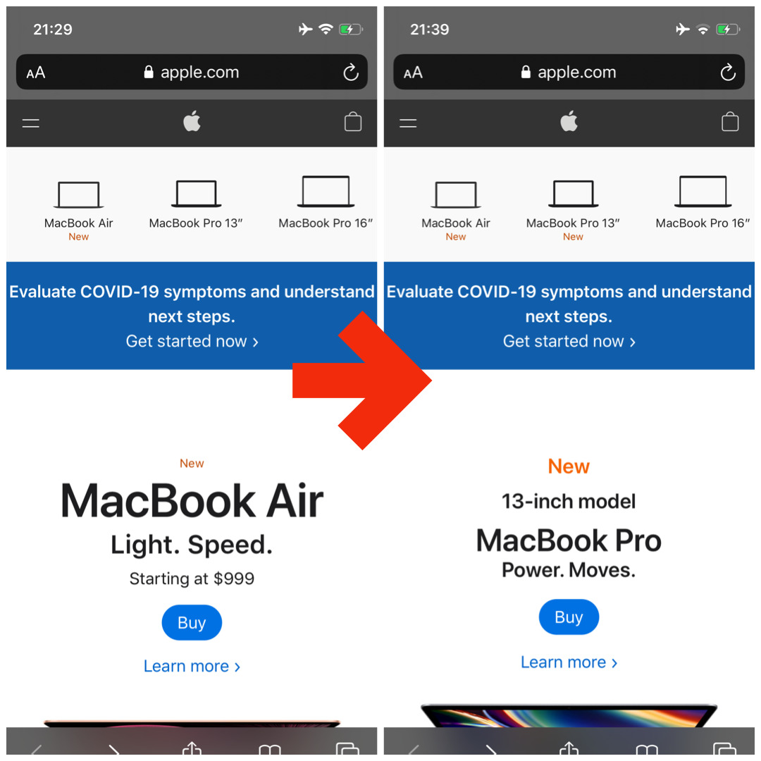 新しいMacBook Pro 13インチ発表/予約開始!Apple新製品 最新ニュース 2020年5月4日