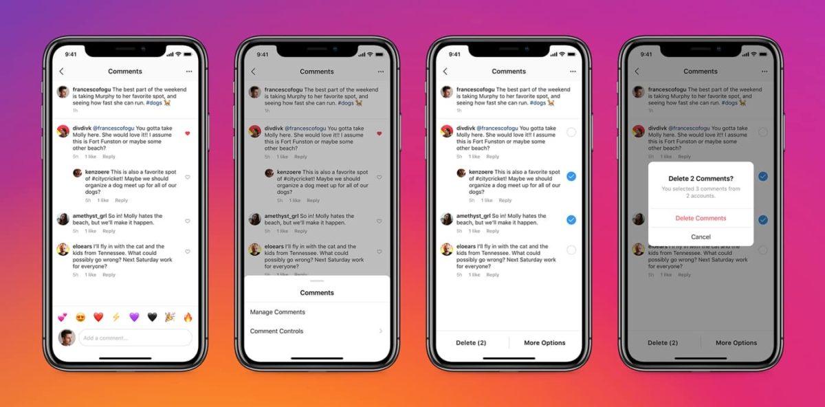 インスタ お気に入りコメントのトップ固定!クソコメ一括削除/クソ垢まとめて制限/ブロック可能に!タグ付け/メンションコントロールも。Instagram新機能アップデート 最新ニュース 2020年5月13日