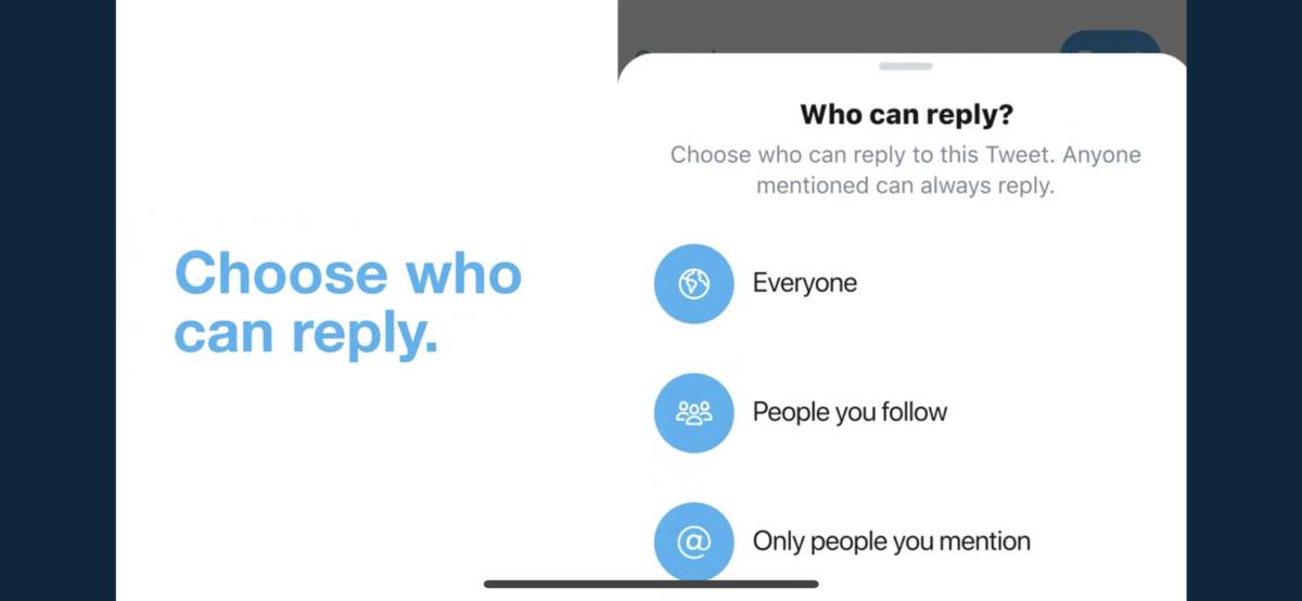 Twitterクソリプ防止機能!リプライ受信範囲/制限設定をテスト中!「誰でも」「フォロー中」「@対象のみ」。Twitter新機能/アップデート最新ニュース 2020年1月-5月