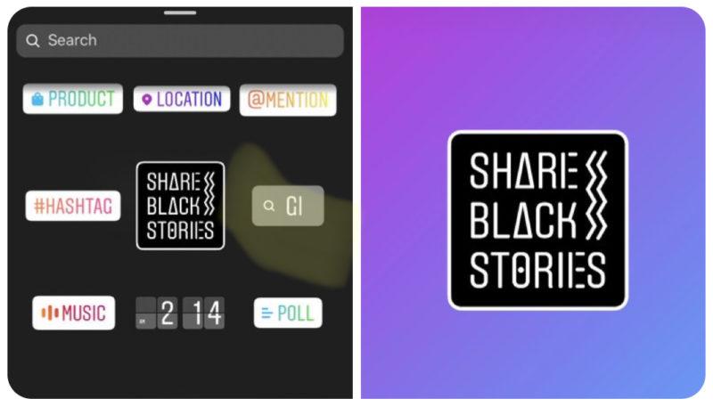 インスタグラム SHARE BLACK STORIES 新スタンプ公開!Instagramストーリーズ新機能アップデート最新ニュース 2020年6月10日
