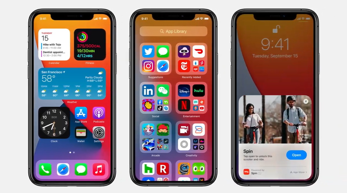 iOS 14明日公開開始!新機能まとめ。アプリ自動で整理/自由自在ウィジェット。動画PinP/iPhoneが車の 鍵に。メッセージで共有他。Apple Event&WWDC 2020 最新ニュース