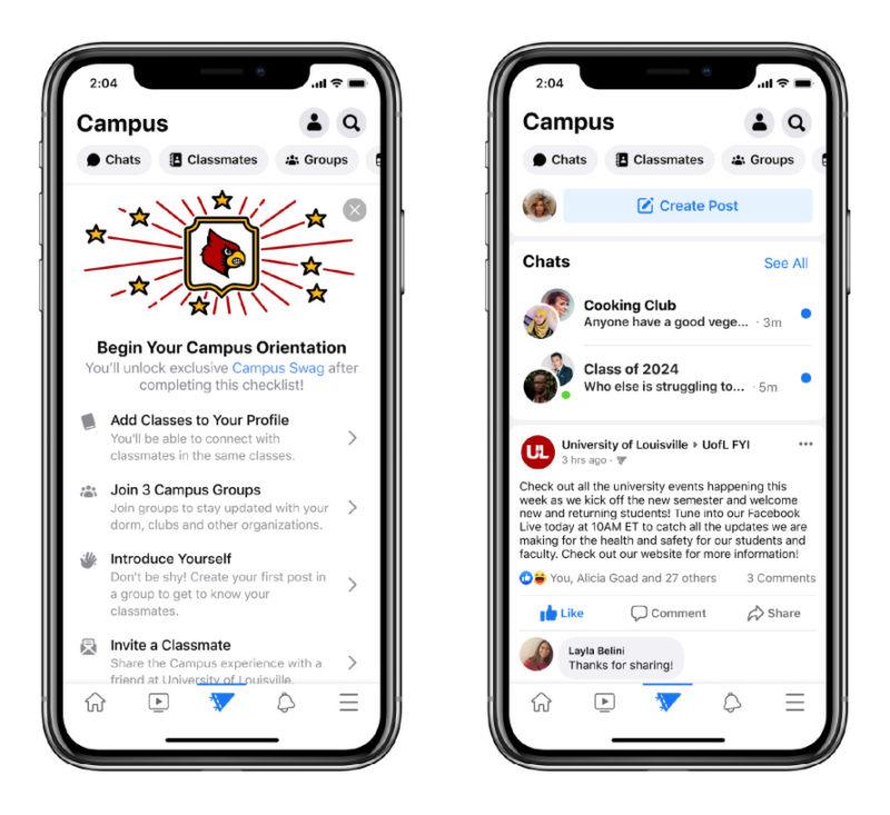 フェイスブックが大学別コミュニティ機能「Facebook Campus」公開。withコロナ 最新情報 2020年9月