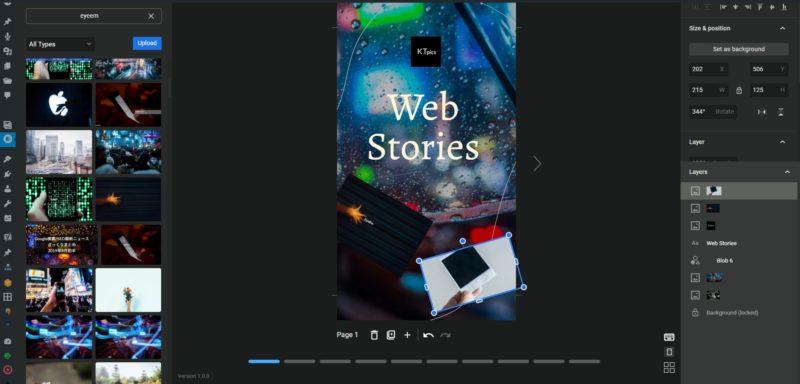 Google公式AMPストーリーをかんたん作成できるWordPressプラグイン「Web Stories」が公開!ウェブストーリー作ってみた。スマホブラウザから無理やり