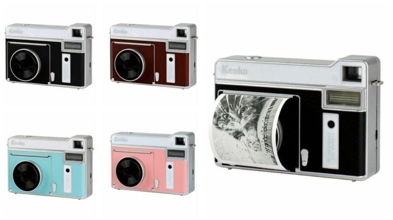 トキナー感熱モノクロカメラ9/18発売。撮影したその場でモノクロプリント。カメラ最新ニュース 2020