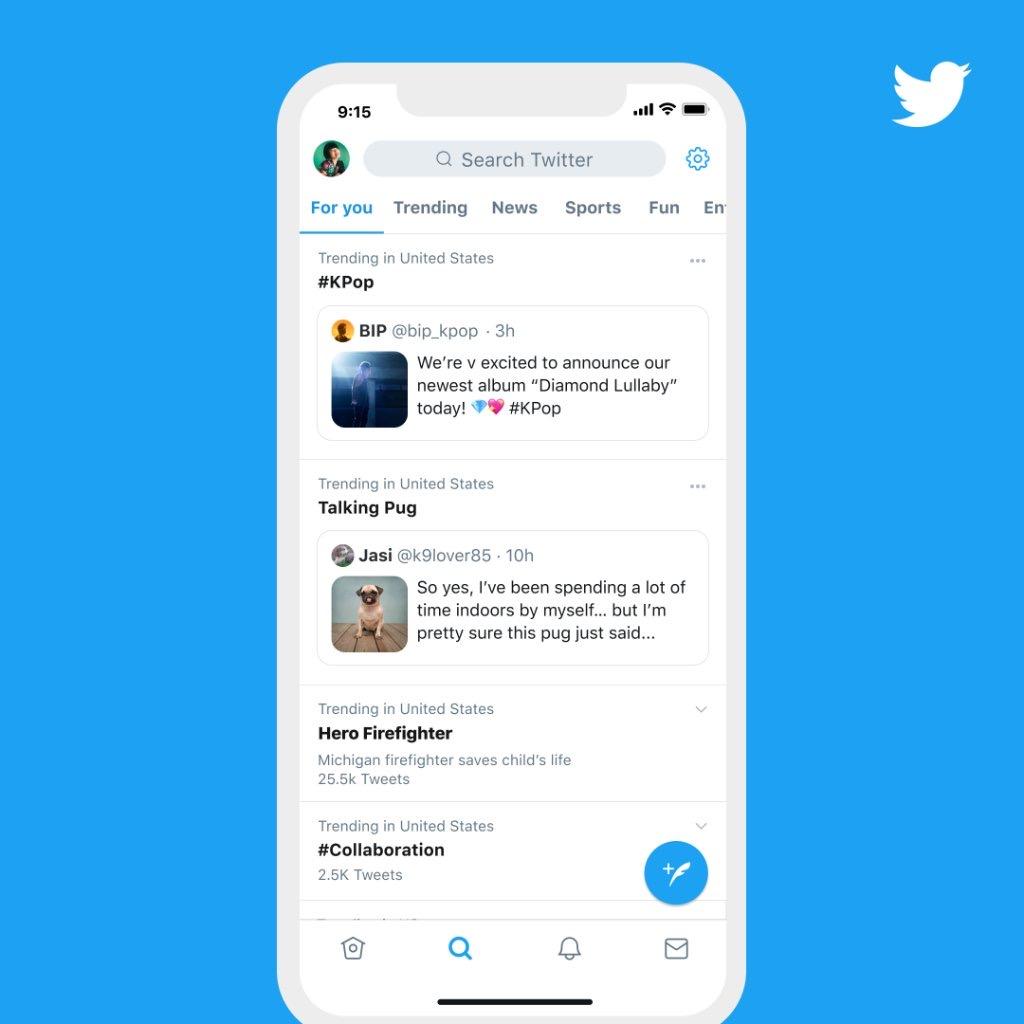 Twitter「なんでトレンド入り?」が把握しやすく。関連ツイートのピン固定開始。Twitter新機能/アップデート 最新ニュース2020年9月