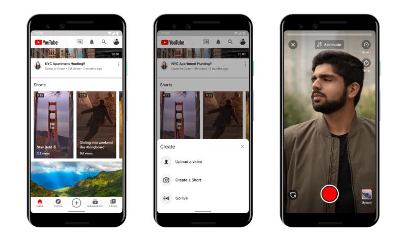 YouTube Shortsテスト開始!TikTok/インスタリール対抗 YouTube新機能ショート 最新ニュース 2020年9月15日