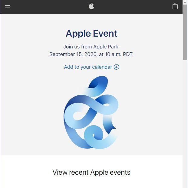 Apple新製品発表会は9月16日。iPhone 12?新型iPad?アップルウォッチ? #AppleEvent ハッシュタグ絵文字がTwitterトレンド入り。2020年9月8日