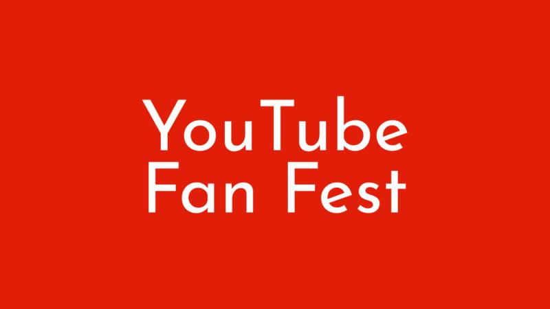 YouTube Fan Fest 2020本日10月11日オンライン開催!YouTube最新情報 2020