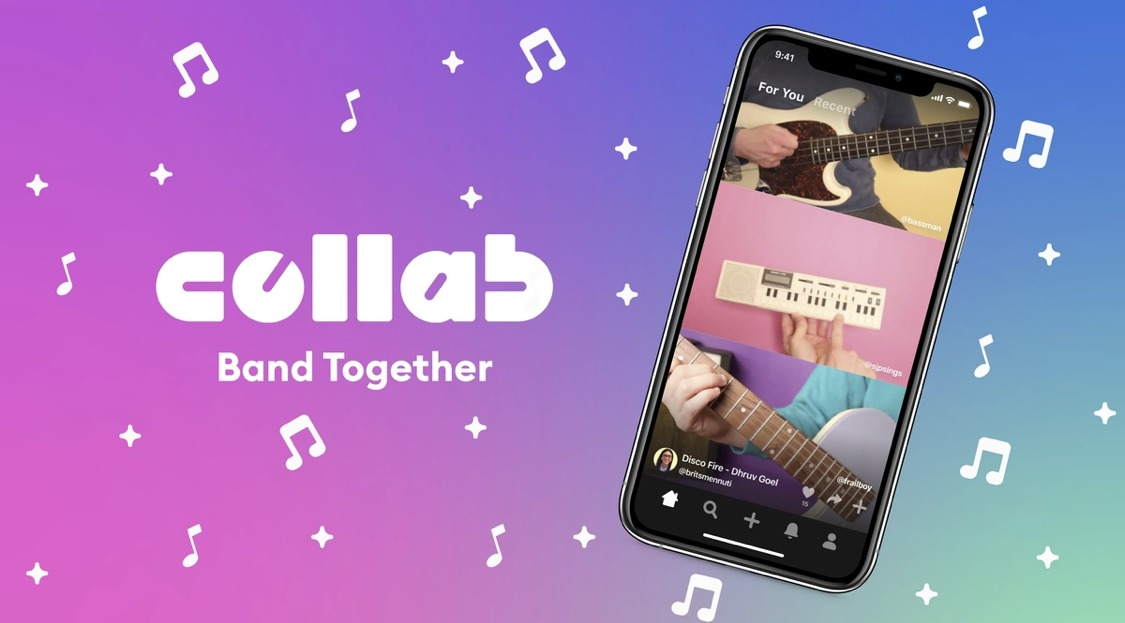 15秒動画スワイプで音楽/演奏動画作成「Collab(コラボ)」フェイスブックのリモートセッションアプリ公開開始。NPE team from Facebook最新ニュース 2020年12月