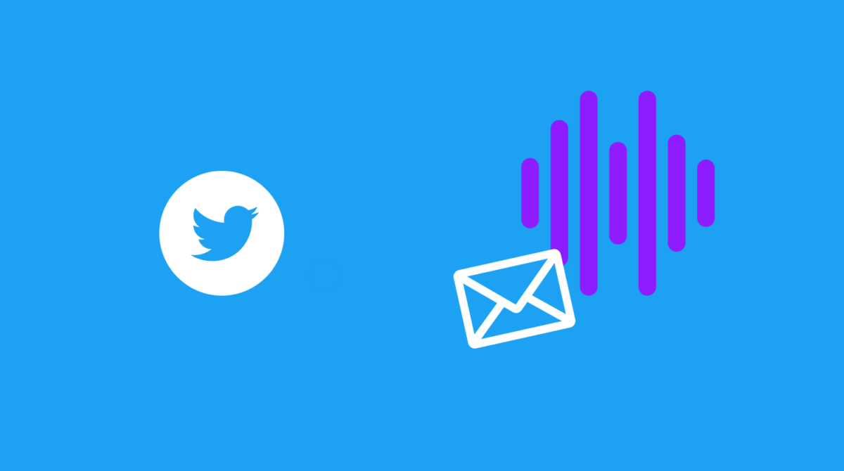 Twitter rolling out voice message new feature in Direct Message on Twitter app Feb 2021