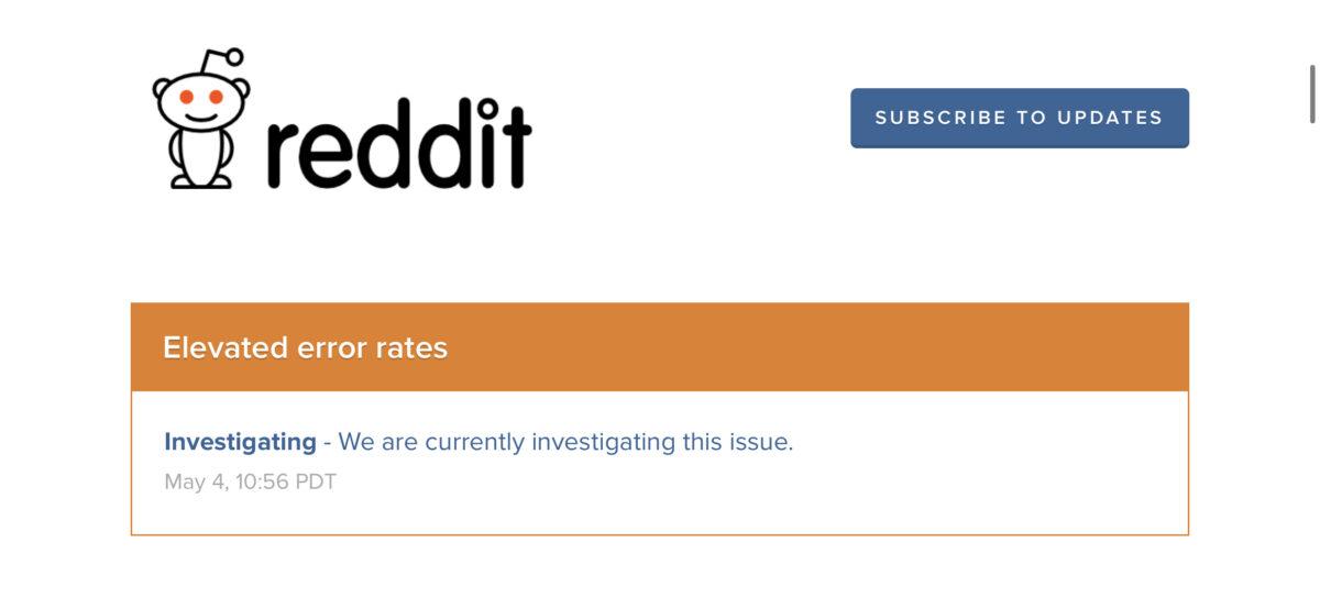 Redditに不具合発生。読み込みエラー、接続できないなどTwitterに #RedditDown ツイート加速中。障害最新情報