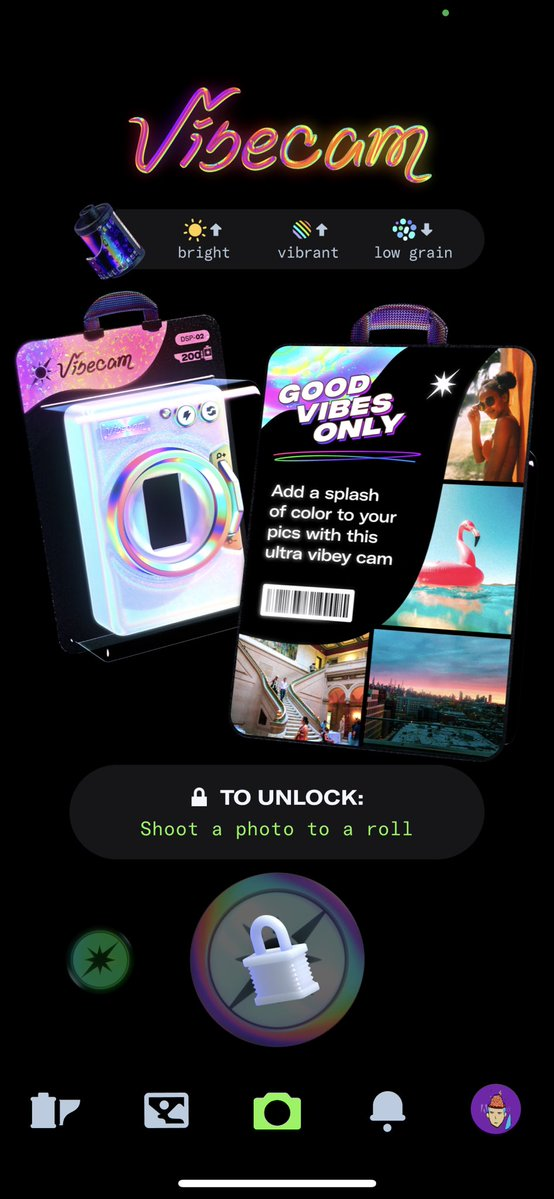 """Dispo rolling out new camera(Filter) """"VIBECAM""""! Dispo updates latest news Jul 2021"""